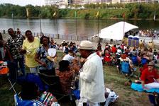 Riverfront concert